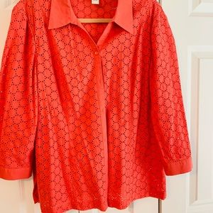 JM Collection blouse